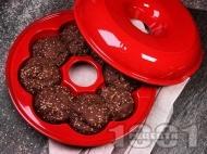 Рецепта Лесни малки содени питки с ленено брашно и сусам за закуска